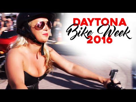 Hot Chicks & Bad Ass Bikes at 2016 Daytona Bike Week