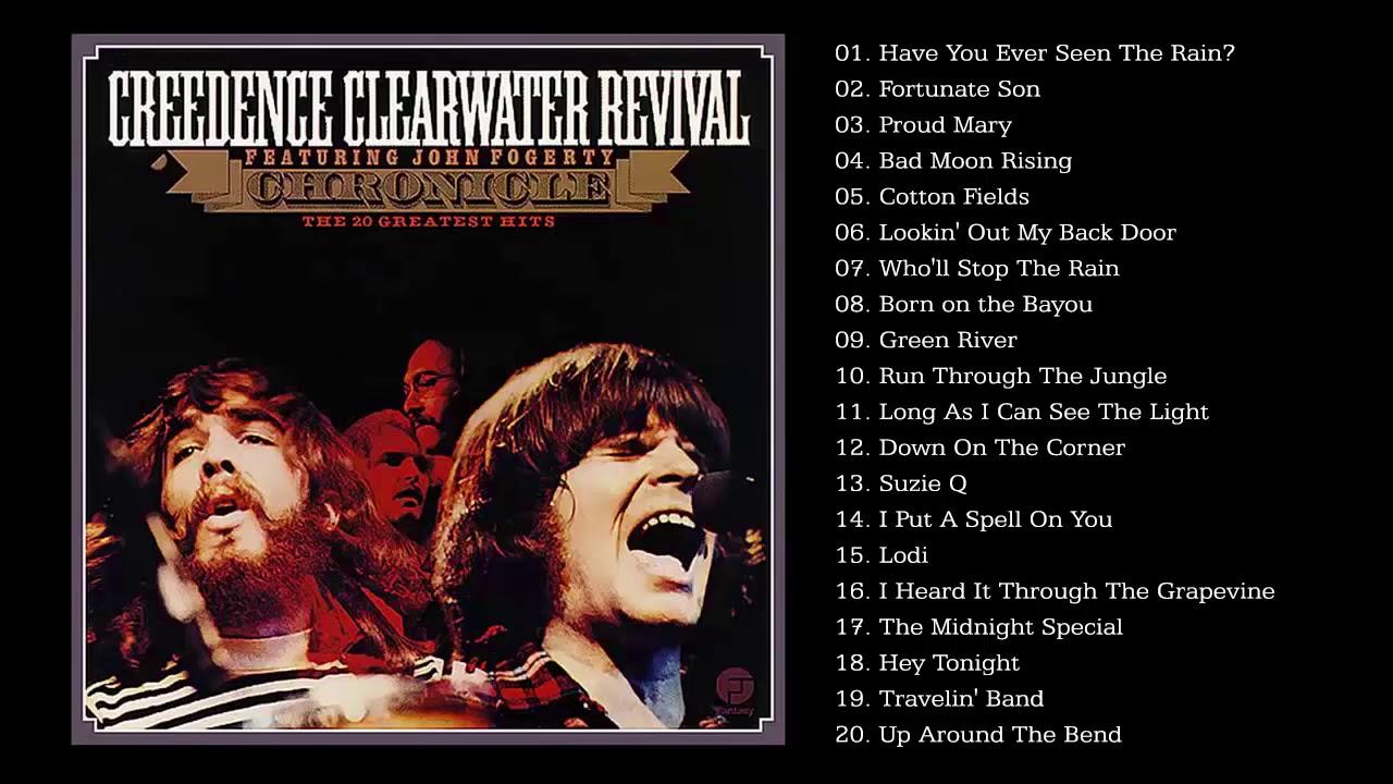 CCR Greatest Hits Full Album Best Songs of CCR HQ   YouTube ...