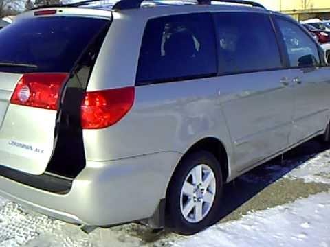 2007 Toyota Sienna XLE - YouTube