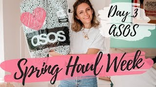 SPRING HAUL WEEK 2019 | Day 3 | ASOS HAUL | COCOA CHELSEA