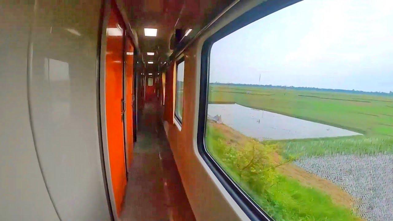 Brand New Indonesian Coaches Cabin View || Kishoreganj express Train | Bangladesh Railway