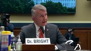 WATCH: Rushing coronavirus vaccine poses risks, whistleblower Rick Bright says