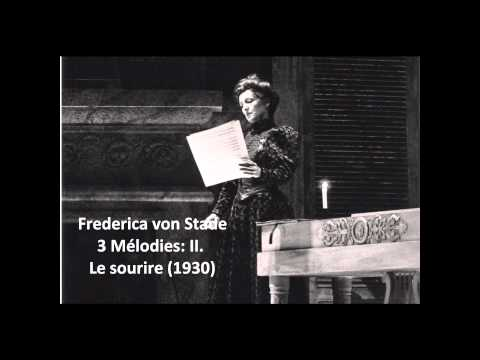 "Frederica von Stade: The complete ""3 Mélodies"" (Messiaen)"