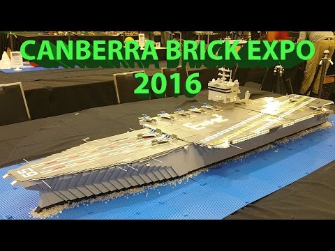 LEGO Canberra Brick Expo 2016