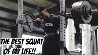 The Biggest Squat Of My Life!
