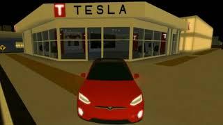 [Roblox] Tesla Model X | Vehicle Simulator