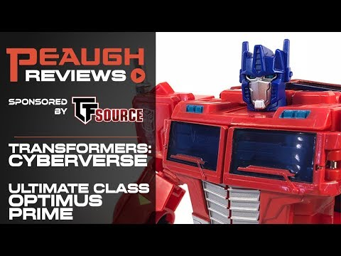 Video Review: Transformers Cyberverse - Ultimate Class OPTIMUS PRIME