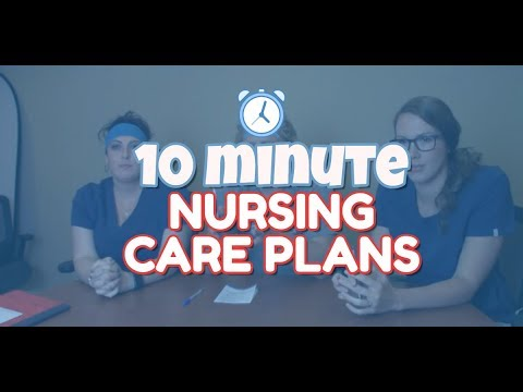 Writing A Nursing Care Plan Under 10 Minutes (nursing Care Plan Tutorial)