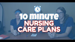 Writing a Nursing Care Plan Under 10 Minutes (nursing care plan tutorial)