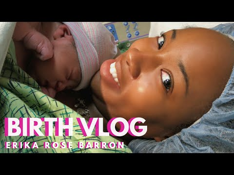 LIVE BIRTH VLOG + Labor and Delivery of Baby Judah