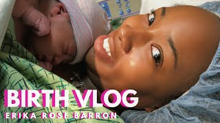 Repeat youtube video LIVE BIRTH VLOG + Labor and Delivery of Baby Judah