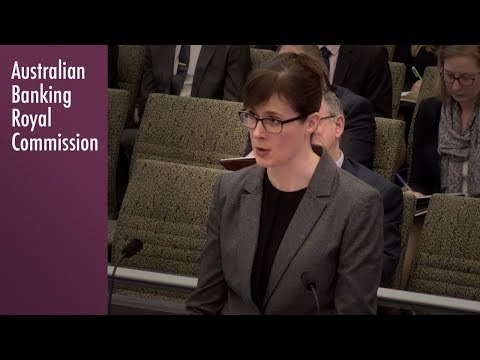 Opening address on the topic of Insurance at the Banking Royal Commission (6.1)