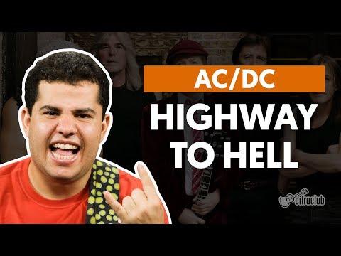 Highway To Hell - AC/DC (aula de guitarra)