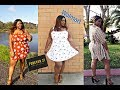 FOREVER 21 PLUS SIZE DRESSES TRY ON  (2019)