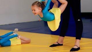 Детская гимнастика - самое первое занятие. Растем вместе.
