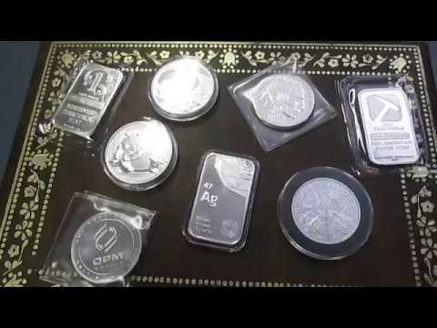 Silver Stack STEEMIT Gold Precious Metals Coin Bullion Market Crash