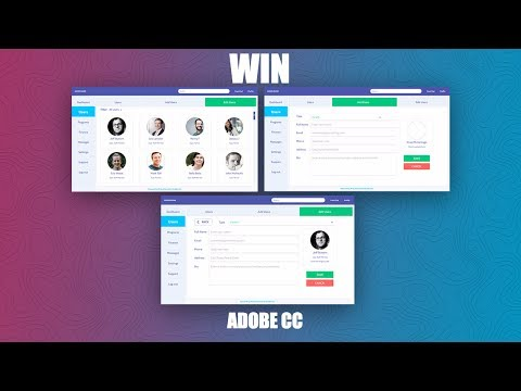 How to design Dashboard in Adobe XD + Free Giveaway adobe cc - Speed Design Part 2