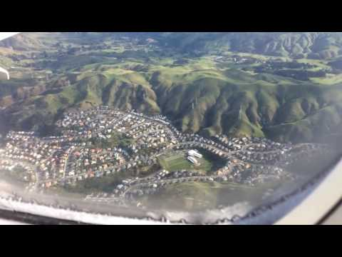 Wellington , New Zealand  from the air ,Eddie Lough