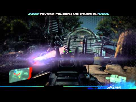 Crysis 2 Campaign Walkthrough - Mission 19 (A walk in the park) Part 1/2 [HD 1080p]