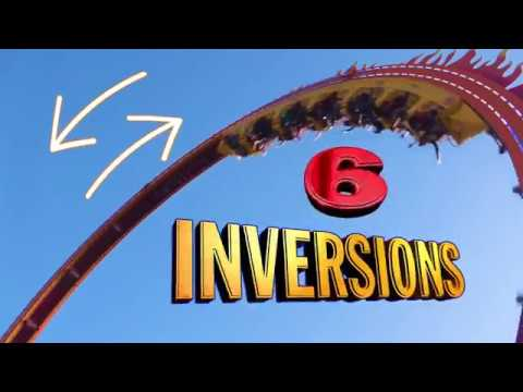 Chaos, La Ronde, Quebec's new ride in 2019 - Unravel Travel TV