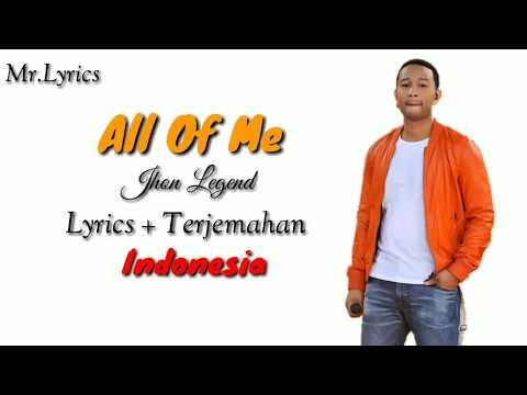 All of Me lirik dan terjemahan | John Legend