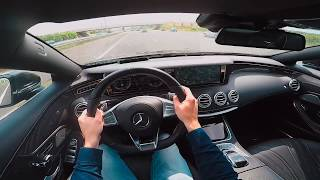 MERCEDES BENZ S65 AMG COUPE POV TEST DRIVE BY DRIVE711