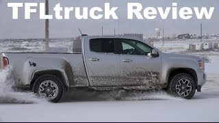 2015 GMC Canyon Off-Road Review: Snow, Dirt, & Donuts in TFL4K