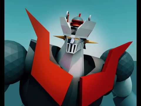 Cinema 4d mazinger z + pilder full rigging up come tutorial with free project download