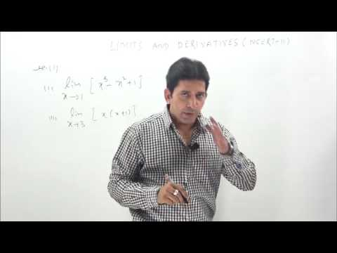 Limits and Derivatives- NCERT-Class 11 solutions