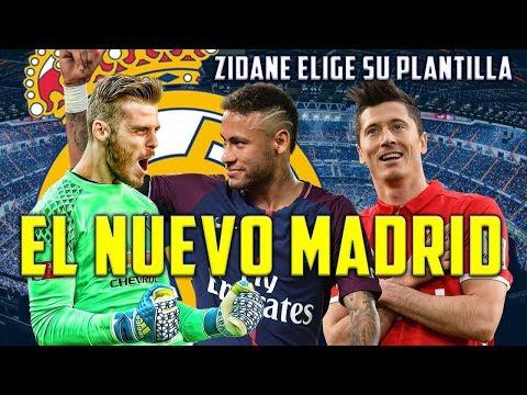 5 FICHAJES DEL REAL MADRID PARA ESTE VERANO | ASÍ SERÁ EL MADRID DE LA TEMPORADA 18-19 thumbnail