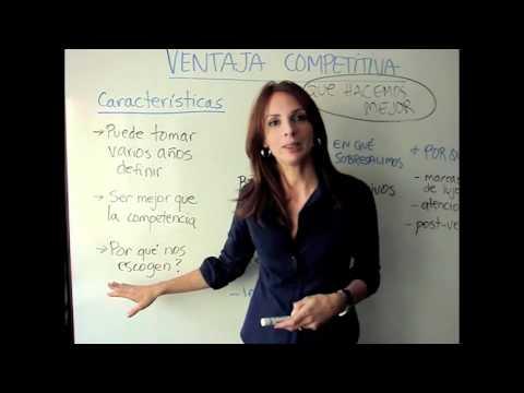 Ventaja competitiva de una empresa, ¿cómo ser el mejor en mi industria? de YouTube · Duración:  5 minutos 6 segundos  · Más de 80.000 vistas · cargado el 12.05.2012 · cargado por MediapressConsulting