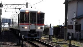 普通 西富士宮行き 373系F3編成 入山瀬駅入線
