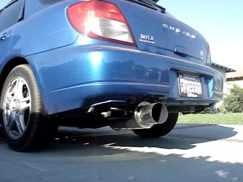 how to clean exhaust tips wrx