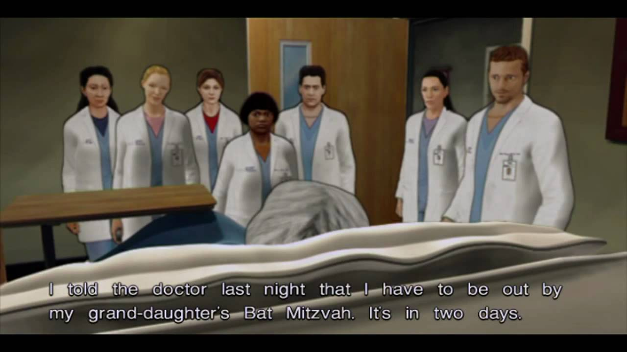 Greys Anatomy Episode 1 Act 1 Scene 34 And 5 Pc Gameplay Video