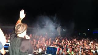 BOOKA SHADE PLAYING BODY LANGUAGE AT CIRCOLO MAGNOLIA (Milan) - 12/07/13