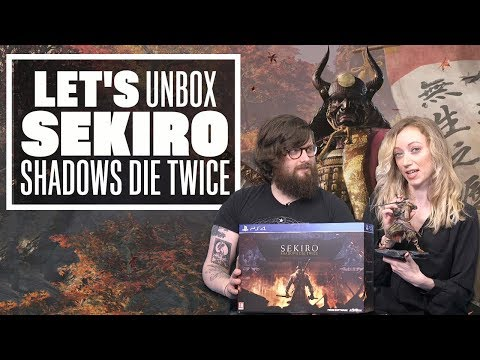 Let&#;s Unbox Sekiro: Shadows Die Twice Collector&#;s Edition - Sekiro Shadows Die Twice PS Gameplay