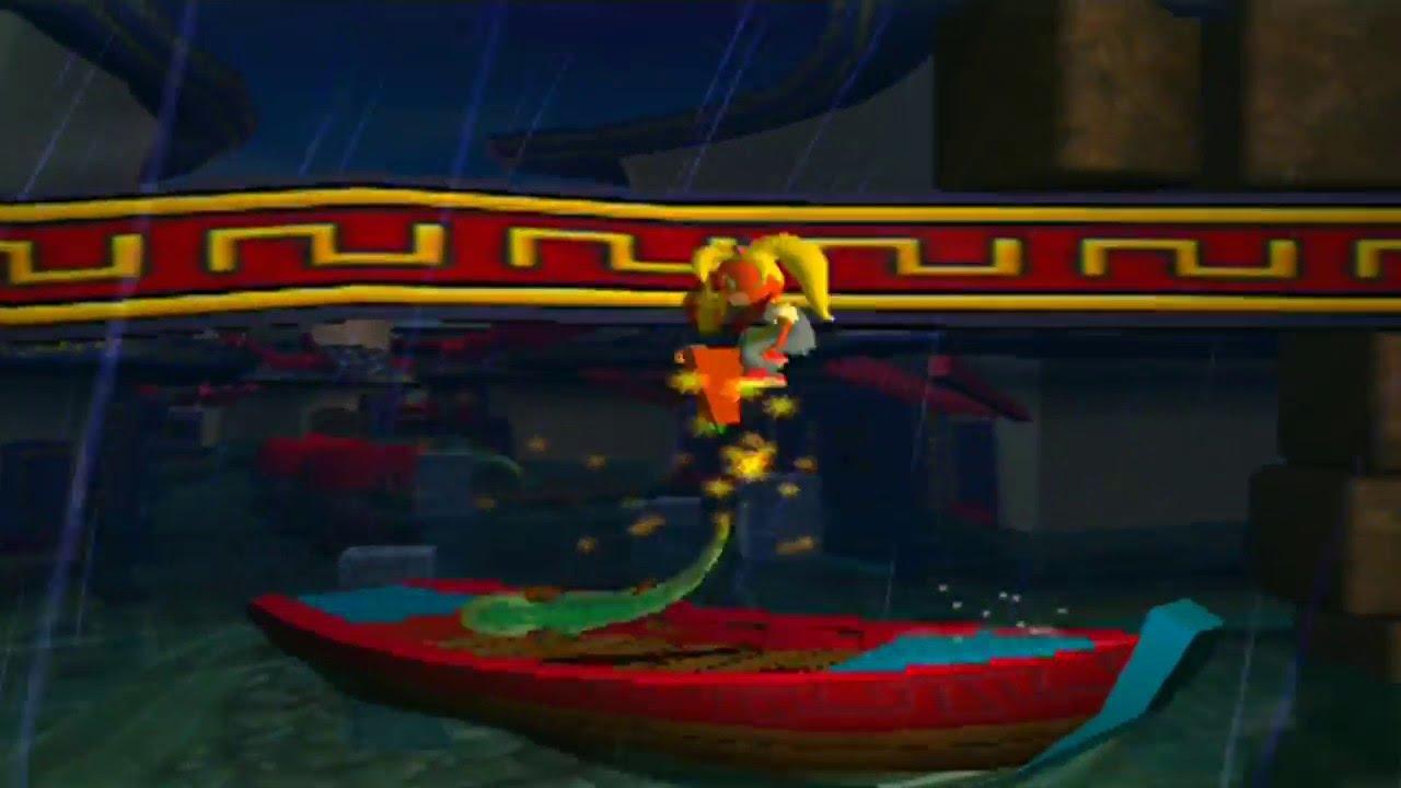 Aninimal Book: Crash Bandicoot: The Wrath of Cortex - Level 12: Tsunami ...