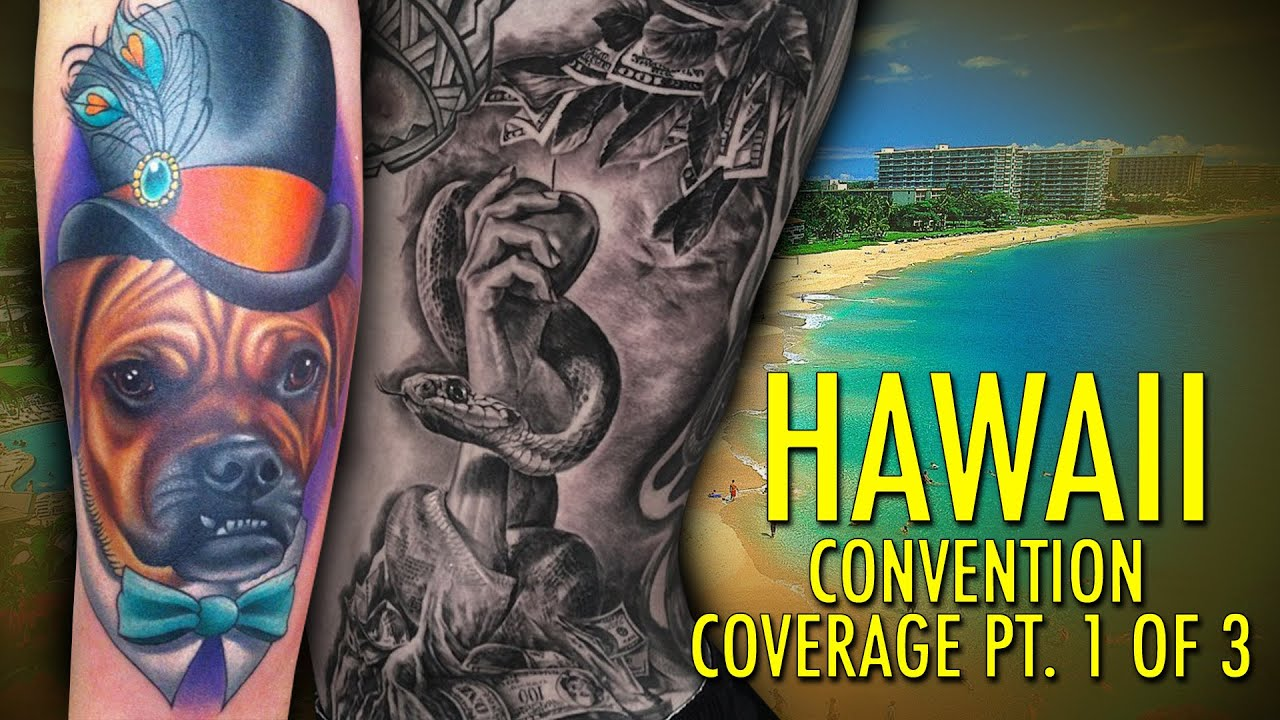 Rockstar energy inked up tour tattoo convention coverage for Hawaii tattoo expo