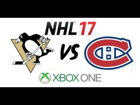 NHL 17 - Pittsburgh Penguins vs Montreal Canadiens - Xbox One