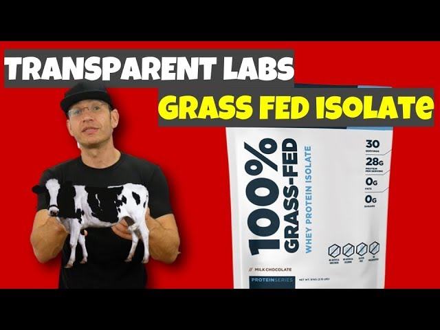 Transparent Labs Protein Review Grass Fed Isolate In Da House Youtube