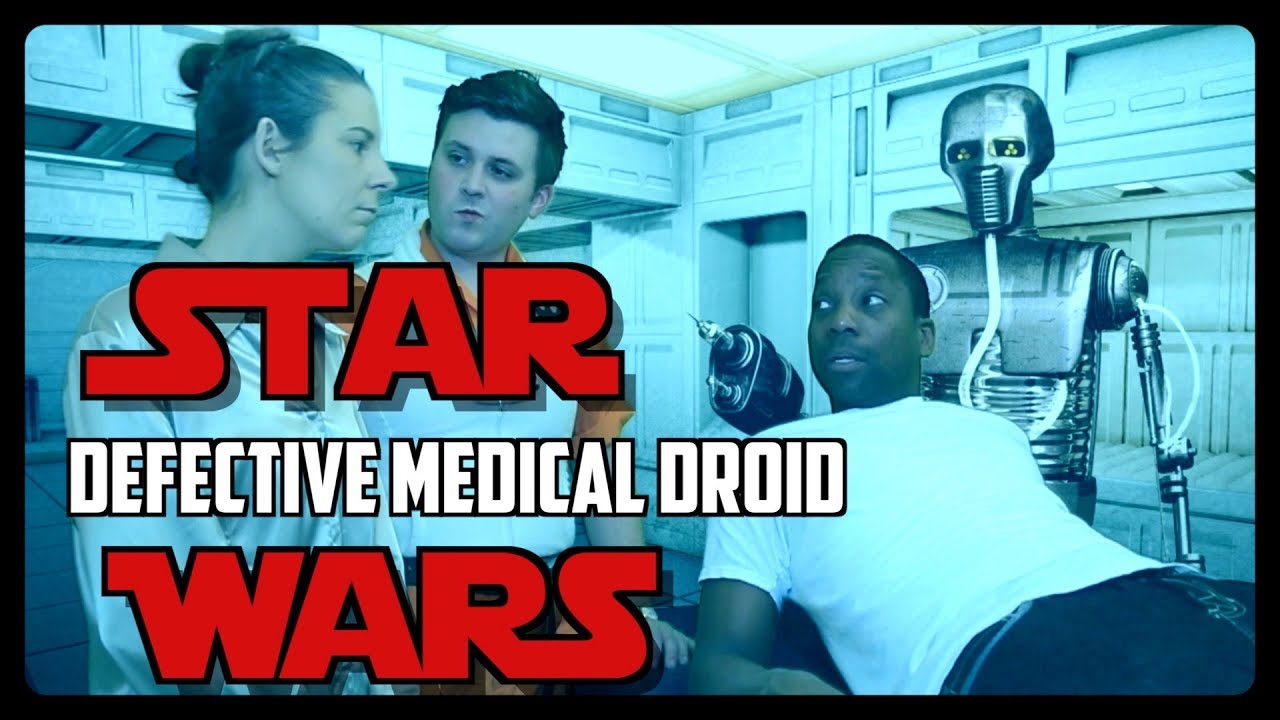 Sketch From Superheroes: Star Wars Medical Droid
