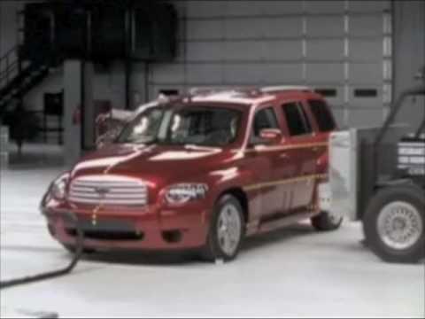 2006 2010 Chevrolet Hhr Iihs Crash Tests Youtube