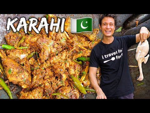 Pakistani Street Food 🇵🇰 Chicken Karahi Recipe!! | Street Food At Home Ep. 1