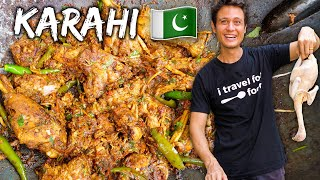 Pakistani Street Food  Chicken Karahi Recipe!!  Street Food At Home Ep. 1