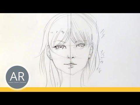 Zeichnen Lernen Akadmie Ruhr Tutorials Portrait Zeichnen Als