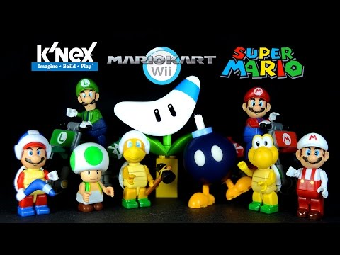 K'NEX Super Mario & Mario Kart Wii Minifigure Collection Set 1