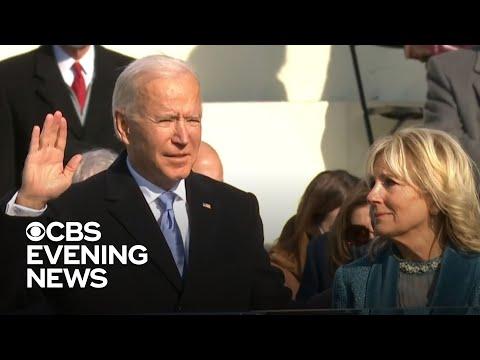 Biden sworn in as 46th president in historic inauguration