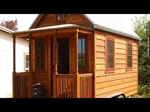 Go Small And Go Home Tiny Houses A Growing Trend Newsy Youtube