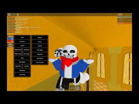 how to troll somebody in roblox sans vs chara