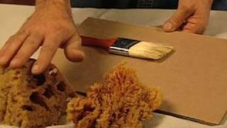 Repeat youtube video Cómo pintar con una esponja